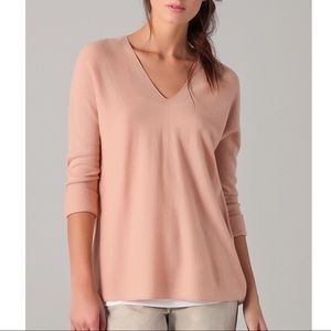 Vince 100% Cashmere Pink Sweater